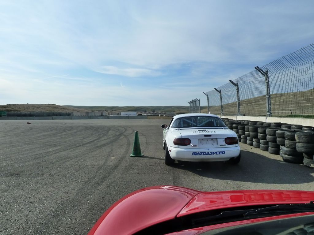 skid pad work.