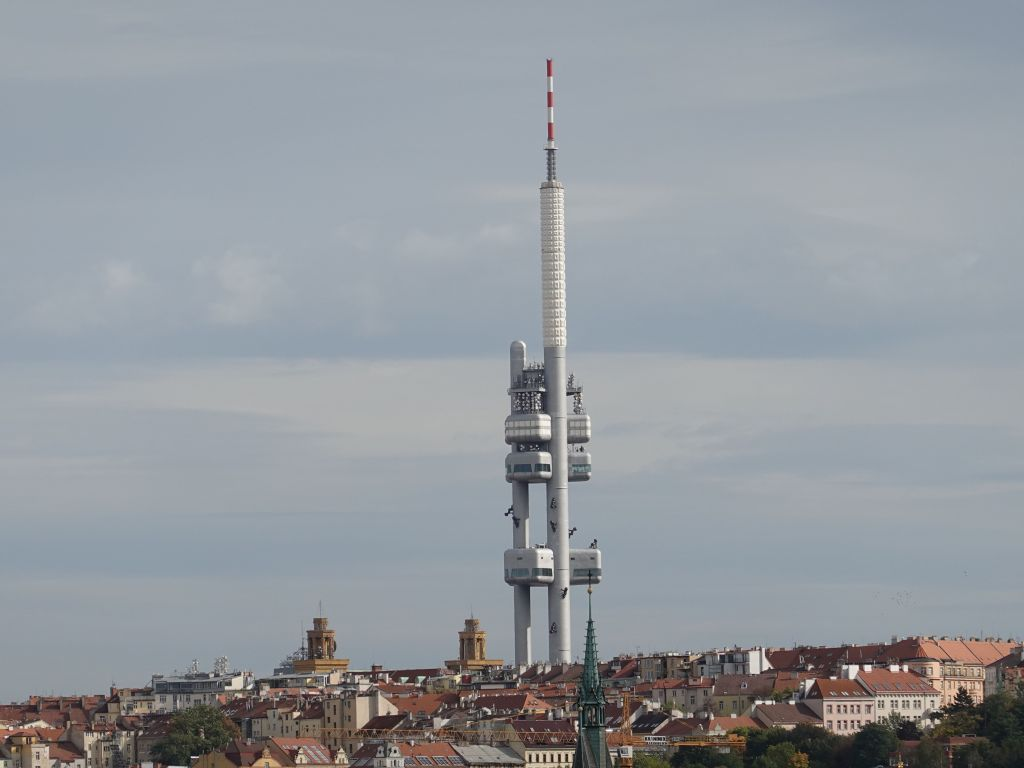 the controvertial TV tower