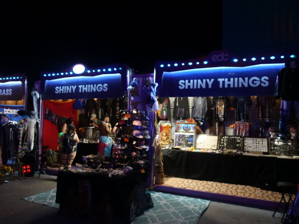 just go to the aptly named 'shiny things' store