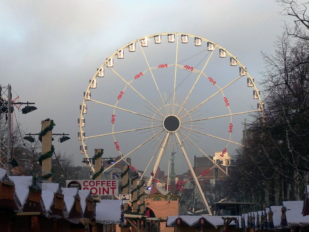 every city seems to have a ferris wheel now :)