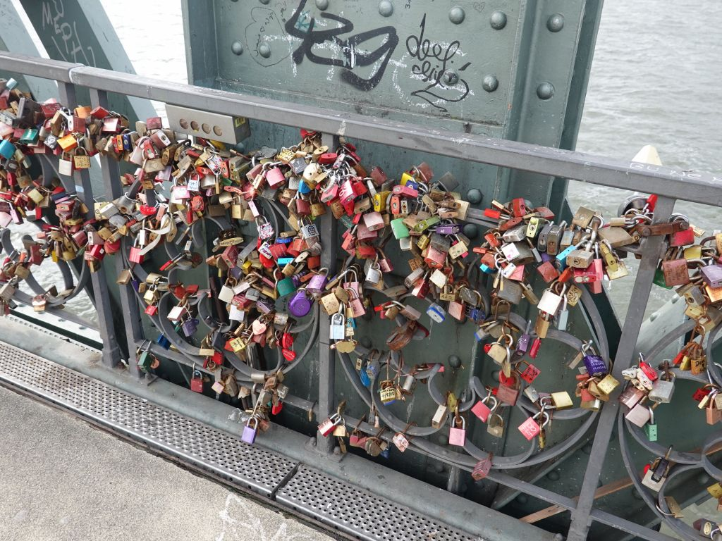 of course, put locks on the bridge