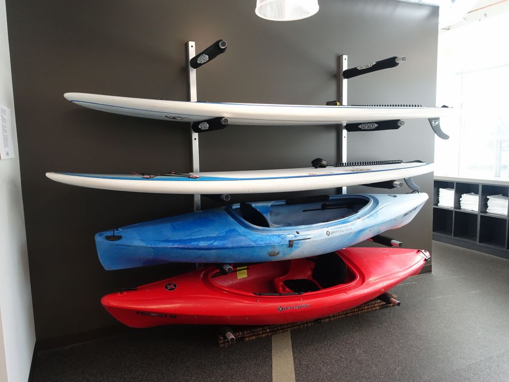 you can even check out kayaks to go on the river, cool :)