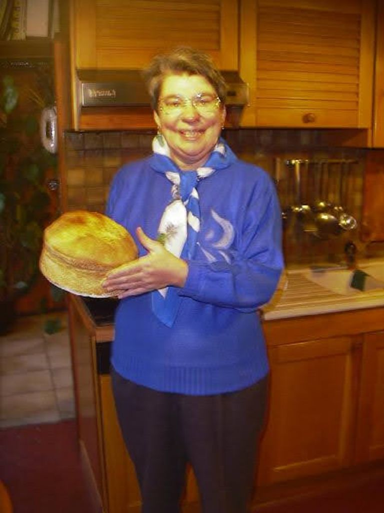 my mom was a good cook, including bread