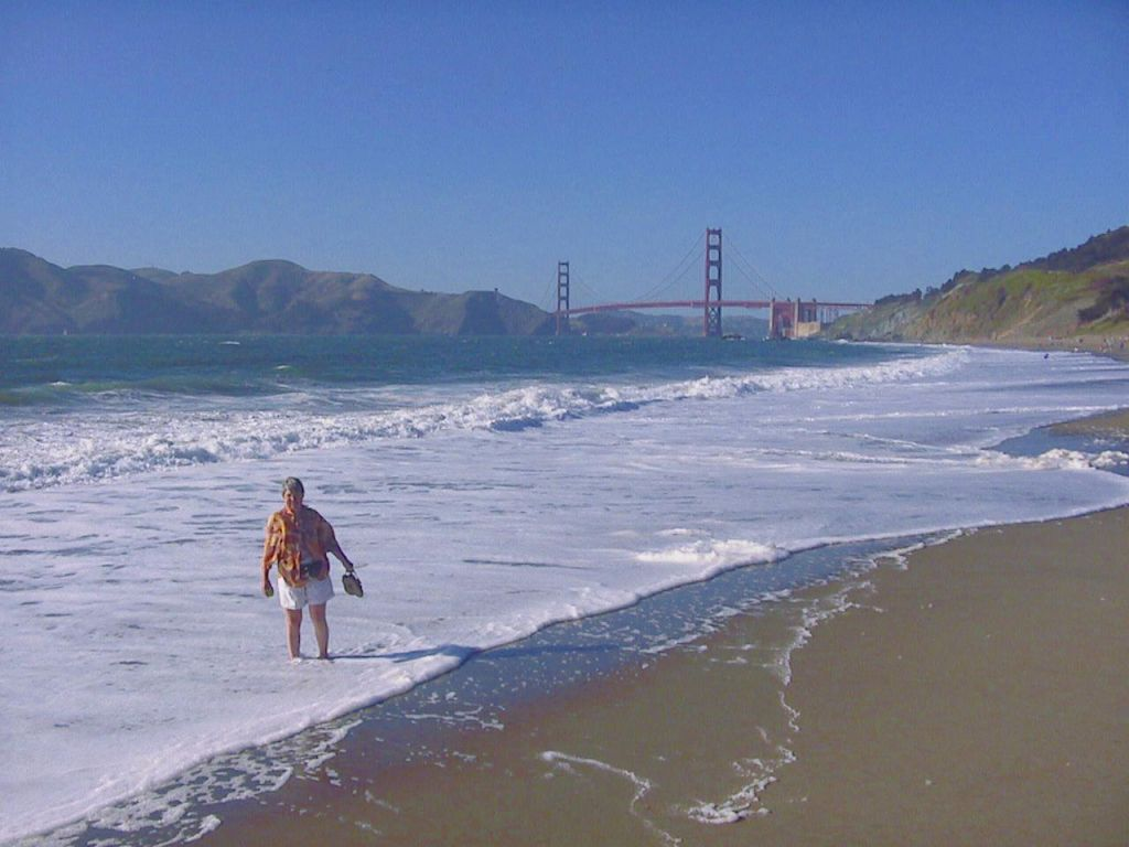 I took her on the 49 mile drive around SF, including a few extra stops I added
