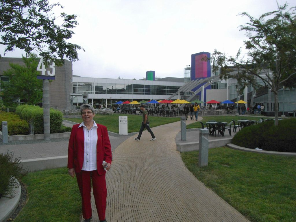 tour of Google in 2007