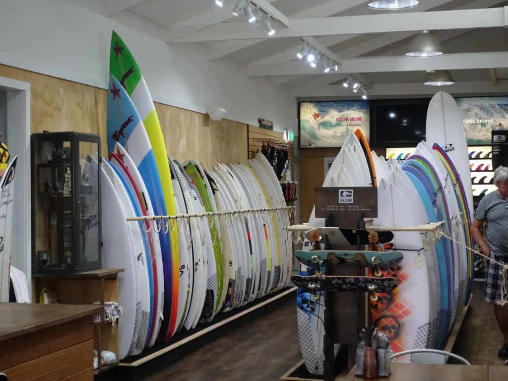 we started by looking at surf boards to get a feel for what exists
