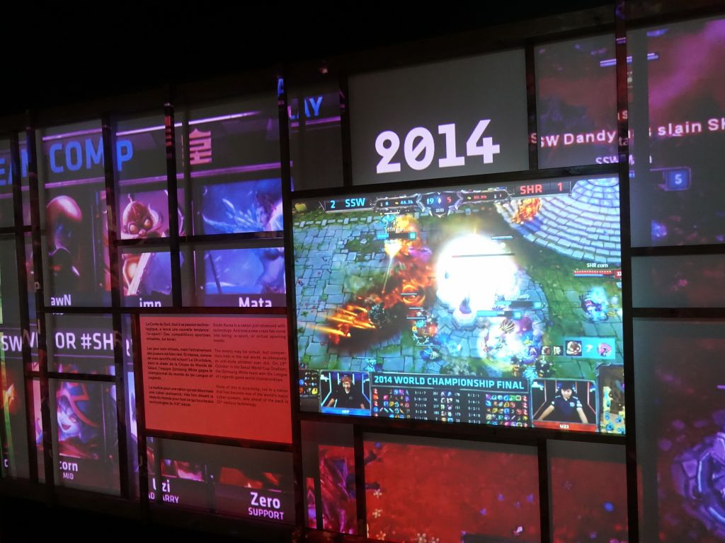 Korea is the top country for video gaming tournaments
