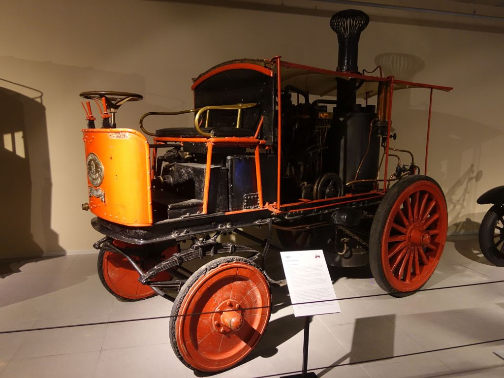 another steam car
