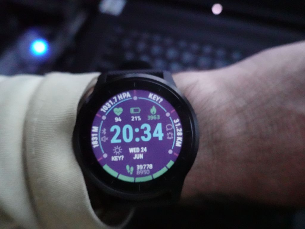 the vivoactive 4 did great, despite 12H of GPS tracking, it had 20% battery left