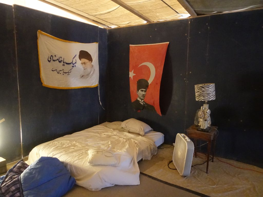one camp had rooms for loan with their own decors