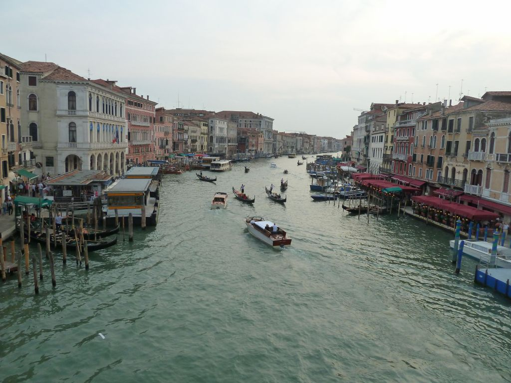 view from Accademia Bridge