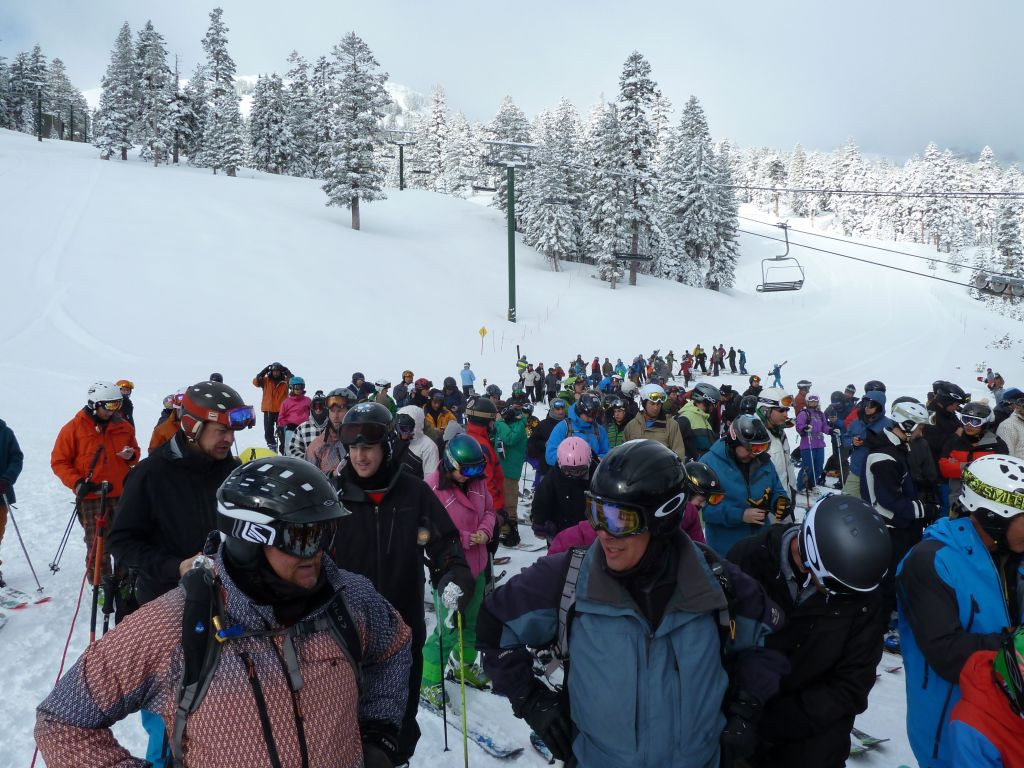 The line at Cornice was a bit ridiculous