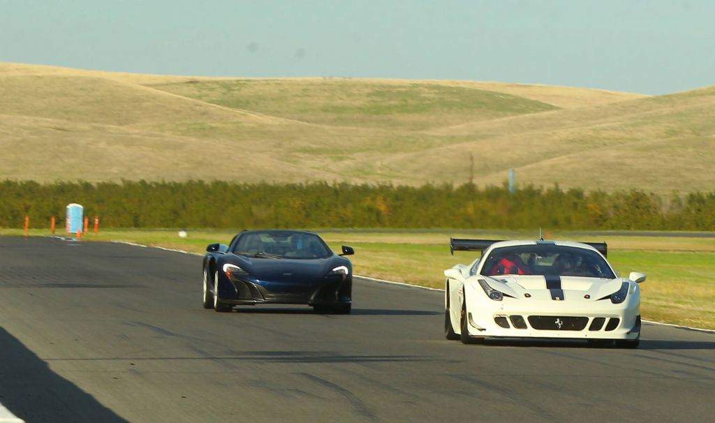 Dito even managed to get me passing my own 650S :)