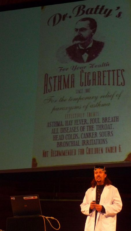 asthma cigarettes, not for children under 6